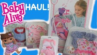 BABY ALIVE HAUL Toys R Us You & Me Haul For Baby Alive!