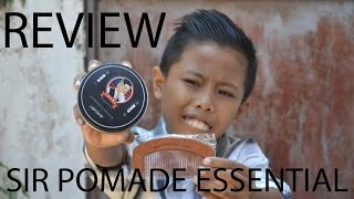 REVIEW SIR ESSENTIAL POMADE