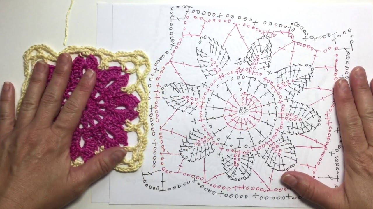 How to read crochet chart for square 5 of springtime afghan cal how to read crochet chart for square 5 of springtime afghan cal ccuart Image collections