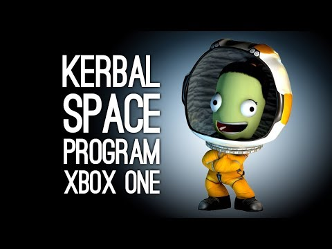 Kerbal Space Program Xbox One: Mike vs Jane SPACE-OFF (RIP KERBALS)