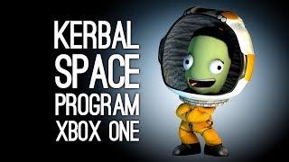 Kerbal Space Program Xbox One: Mike vs Jane SPACE-OFF (RIP KERBALS)