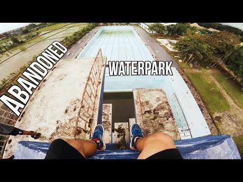 Abandoned Water Park in Lombok