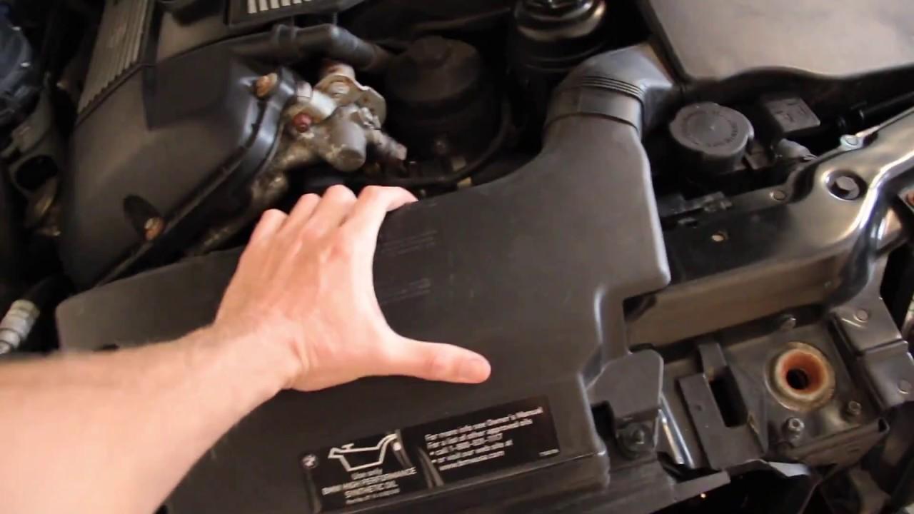 bmw e46 3 series radiator diy manual  [ 1280 x 720 Pixel ]