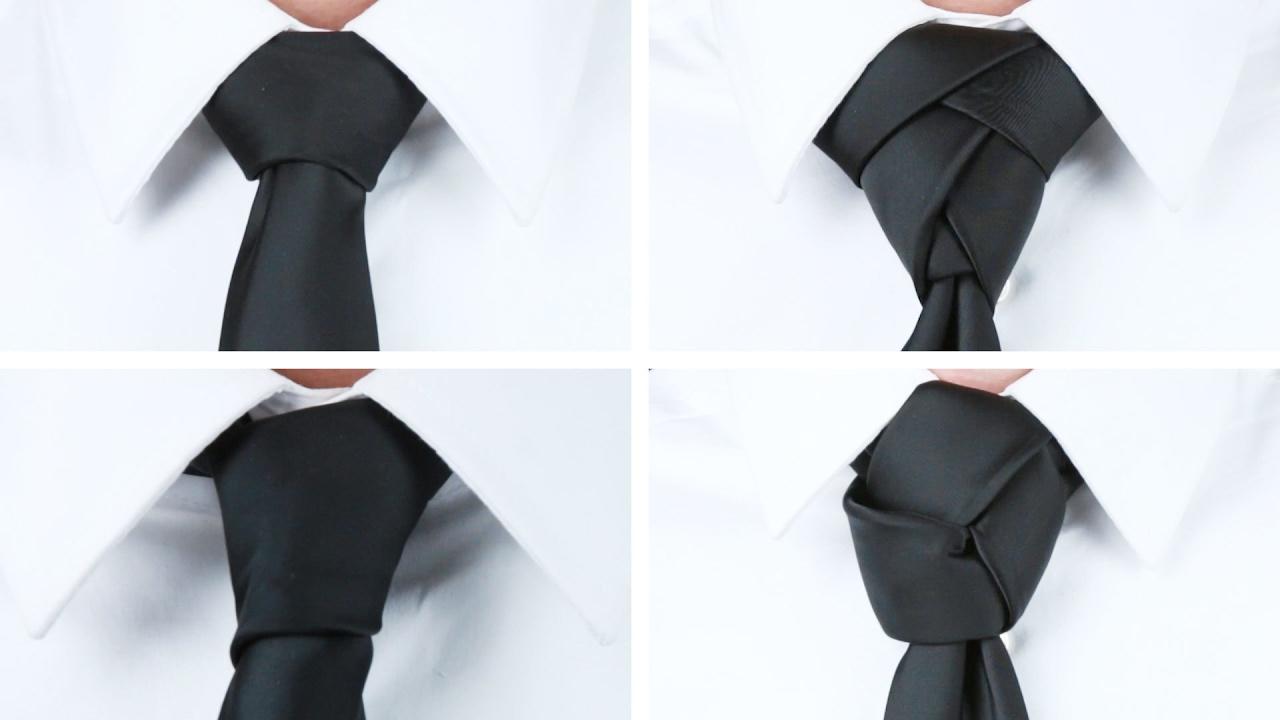 4 Ways To Tie A Tie - YouTube
