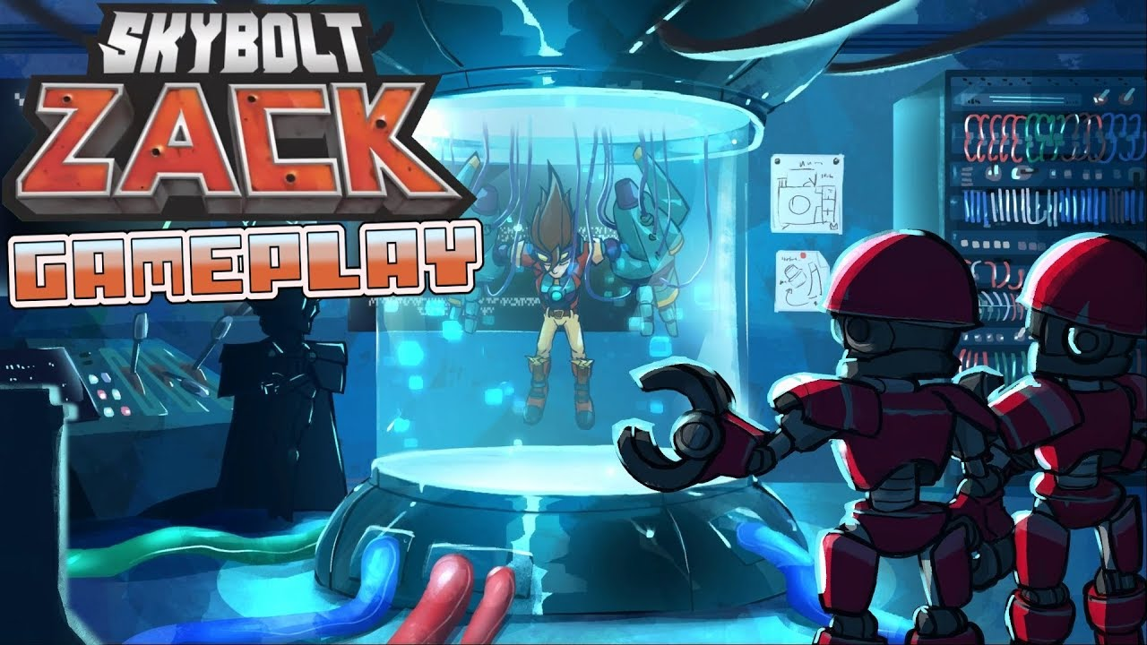 Skybolt Zack - Gameplay (Fast-paced Arcade Action Rhythm Game)