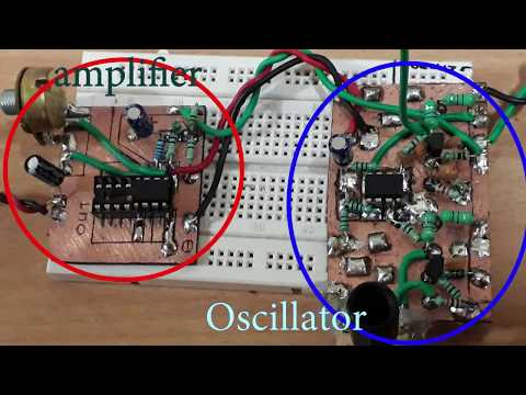 Make your own Musical Instrument - Theremin DIY (थेरेमिन संगीत वाद्ययंत्र)