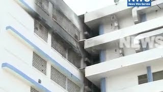 FIRE BREAKS OUT AT NEW DELHI HOSPITAL