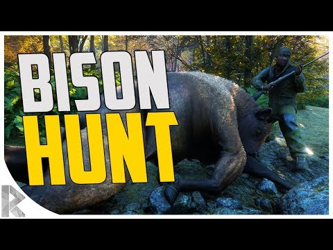 We Found BISON! - New Germany Map! - theHunter: Call of the Wild #7