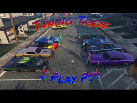 GTA 5 Online car meet / Tuning-Treffen #24 (PS3) | Import vs. Muscle