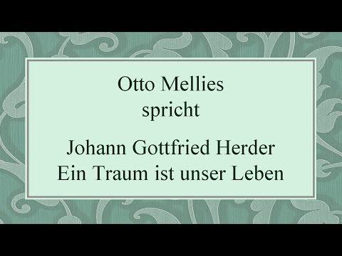 """Johann Gottfried Herder """"Ein Traum"""" II"""