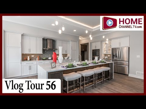 Open House Vlog 56 - Custom Ranch Home Walk-through with Builder