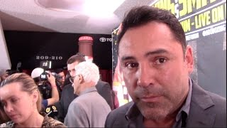 OSCAR DE LA HOYA - ITS HIS LEGACY! BERNARD HOPKINS KNOWS EXACTLY WHAT'S AT STAKE /HOPKINS v SMITH JR
