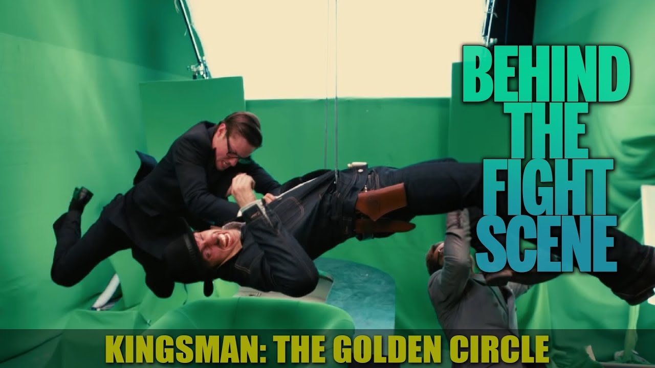 Download Kingsman: The Golden Circle (2017) - Fight Over Briefcase - Behind The Scenes