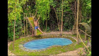 Build Amazing Swiming Pool Slide By Wilderness Technical