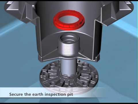 Furse Earth Rod Seal  Installation Demonstration  YouTube