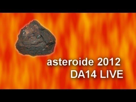 asteroide 2012 DA14 LIVE FROM MILANO (ITALY)
