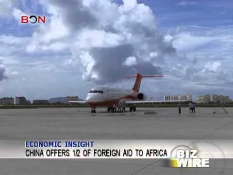 China offers 1/2 of foreign aid to Africa - Biz Wire - May 12,2014 - BONTV China