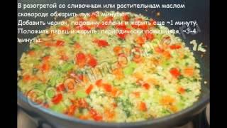 """Рецепты вторых блюд:Мясной """"батон"""" с овощами"""