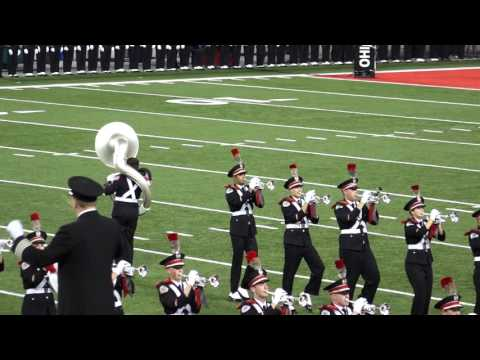 Ohio State Marching Band Entire Pregame Show Incl Ramp Script Ohio Sloopy 10 17 2015 OSU vs PSU