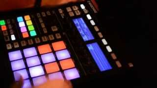 Cumbia Beat on Maschine 2 (How to Quantize Cumbia)