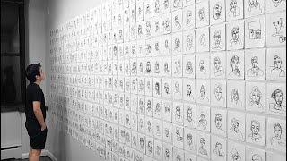 Quarantined Artist Draws 400 Strangers on Omegle | rooneyojr