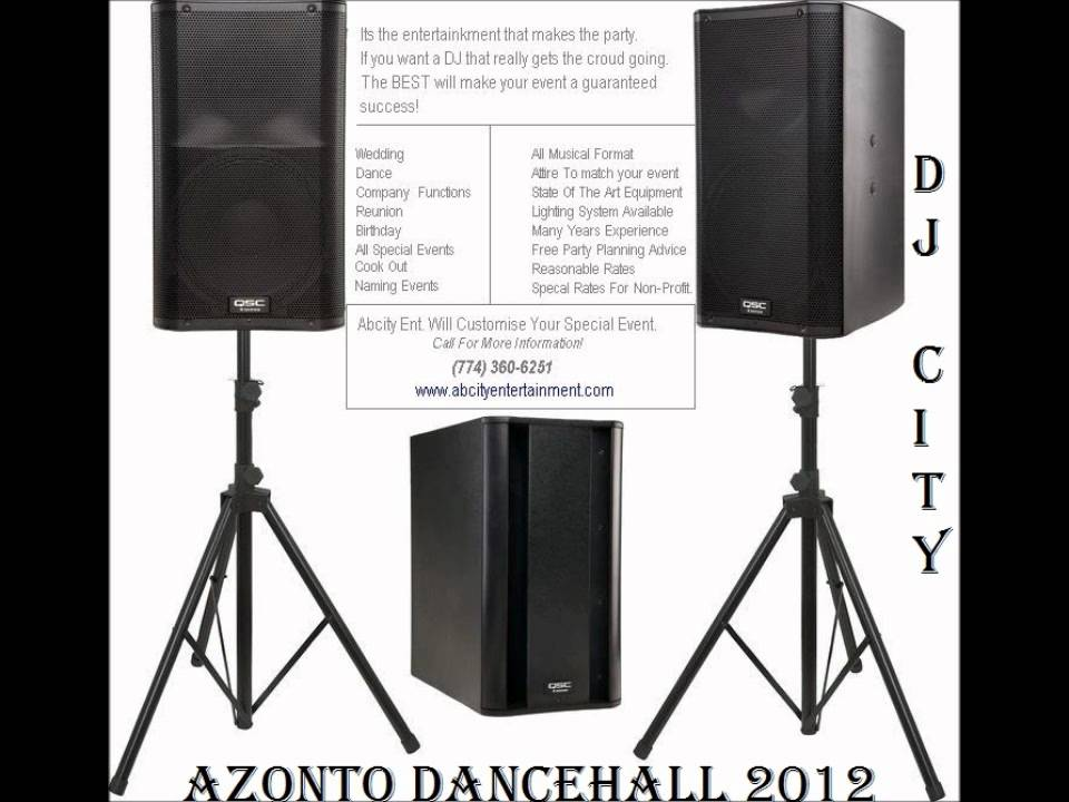 Azonto Mega Mix Down 2012- By DJ City