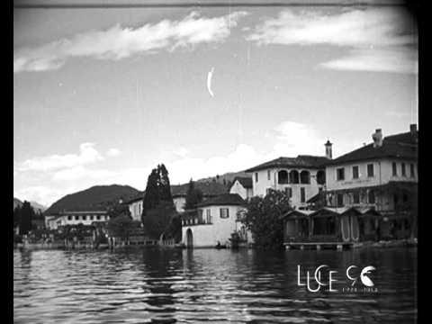 Gioielli del paesaggio italiano – l'Isola di San Giulio (1933)