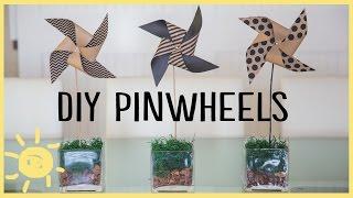 DIY | Pinwheel Crafts (Cute & Easy!!)