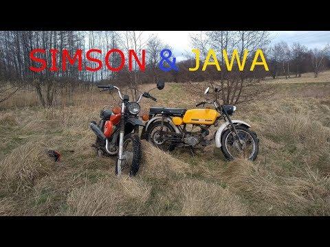 Simson S51 & Jawa 50 Mustang /Saturday Riding