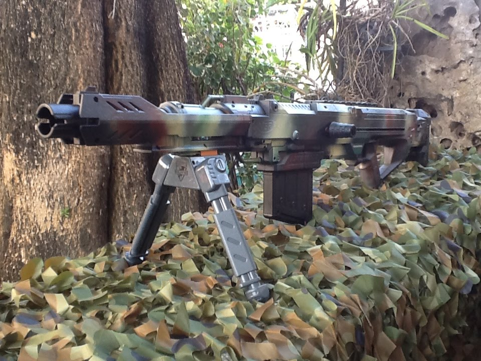 Nerf Mega Centurion Sniper Gun Custom-Multicam Camo