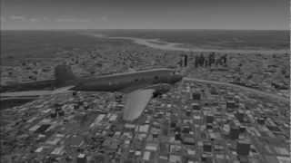 Flying the DC 3 (Flight Simulator X)