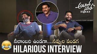 Sunil Hilarious Interview With NTR & Trivikram on Aravinda Sametha | Manastars
