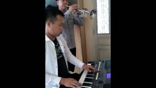 Cầu cho cha mẹ 2 trumpet và organ