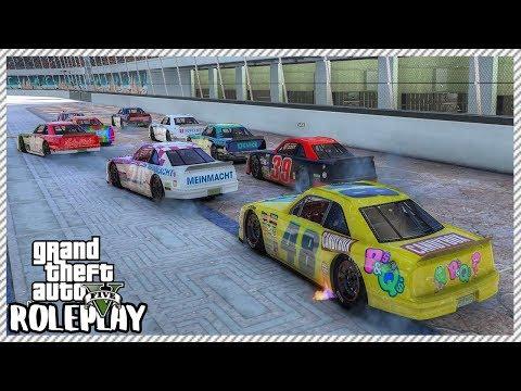GTA 5 Roleplay - Wild 'Nascar' Racing & Wrecks   RedlineRP #303 thumbnail