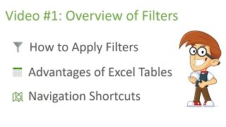 Excel Filters Training - Part 1 of 3