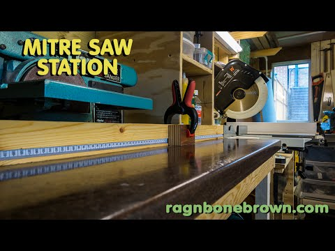 Making a mitre saw station - Part 1 of 2