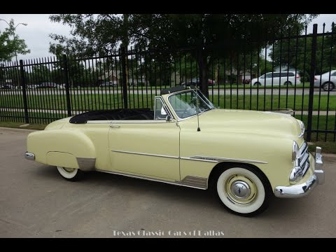 1951 Chevy Styleline Deluxe Convertible Clic Car