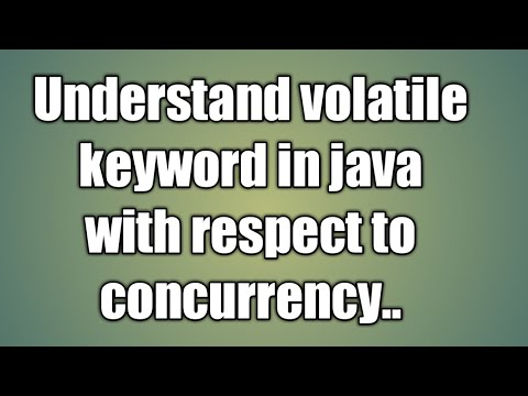 Volatile Keyword In Java | Java Multithreading - Volatile