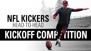NFL Placekickers Go Head-to-Head | Kickoff Competition | Kohl's Kicking Camps