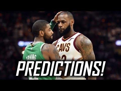 2017-18 NBA Season Predictions - Win-Loss Projections, Awards, NBA Finals, and more!