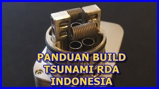 Tutorial Pemula | Build Coil Tsunami Rda Anti Leaking