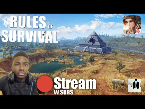 Rules Of Survival Stream //W Subs (Europe Server)