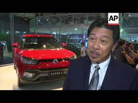 Subaru concept is star of Manila Auto Show