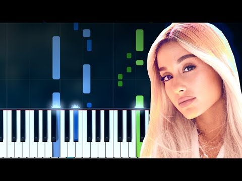 """Ariana Grande - """"God Is A Woman"""" Piano Tutorial - Chords - How To Play - Cover"""