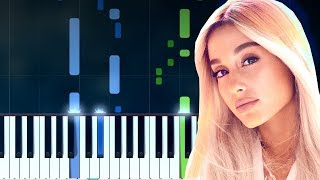 "Ariana Grande - ""God Is A Woman"" Piano Tutorial - Chords - How To Play - Cover"
