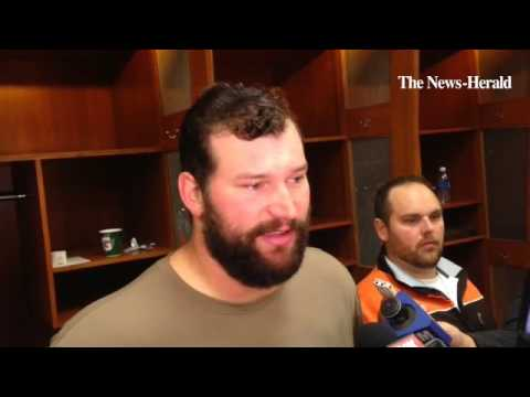 Browns offensive tackle Joe Thomas comments on a rumor he could be on the trading block.