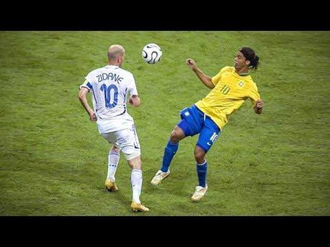 Ronaldinho VS Zidane 🔥