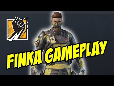 Unseen Finka Gameplay Loadout, gadgets, uniform headgear Rainbow Six Siege  R6 Operation Chimera Lion