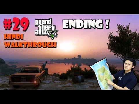 GTA 5 (PS4) Hindi Gaming Walkthrough Part 29 - Deathwish / Ending
