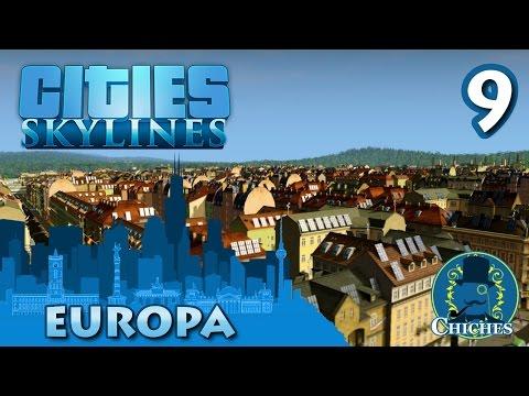 Cities Skylines - Europa - La Universidad #9 en español